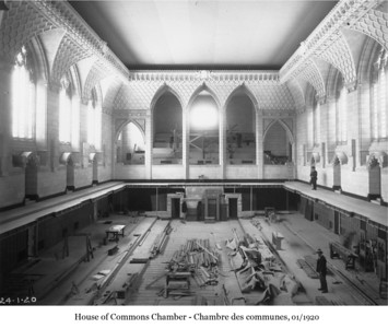 House of Commons Chamber - Chambre des communes, Jan 1920