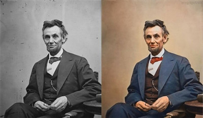 Abraham Lincoln, 1865 (Photo credit: Sanna Dullaway)