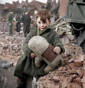 Lost Boy in London, 1945 (Photo credit: valdigtmycketfarg)