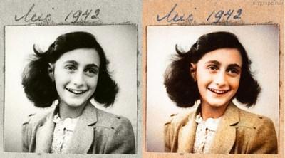 Anne Frank, 1942 (Photo credit: Sanna Dullaway)