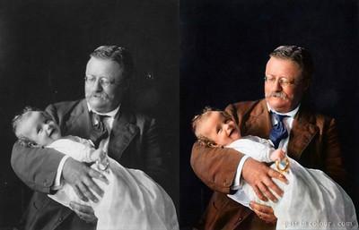 Theodore Roosevelt, Circa 1905 (Photo credit: Sanna Dullaway)