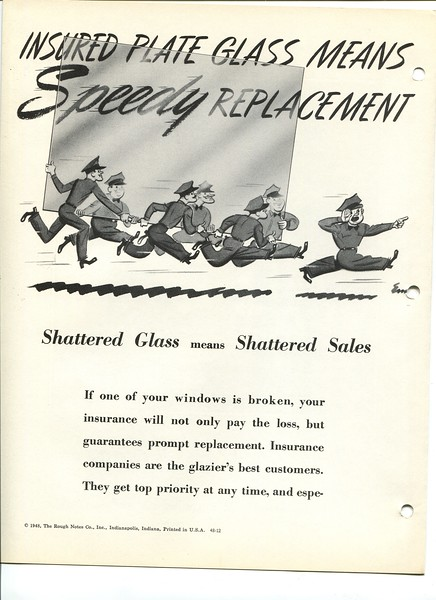 insured plate glass means speedy replacement