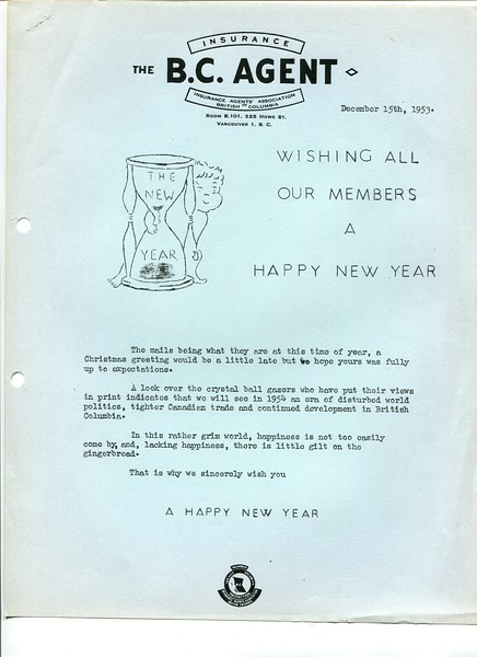 Happy New Year 1953