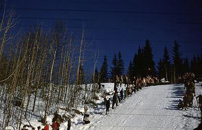Fra serien NM på ski 1961