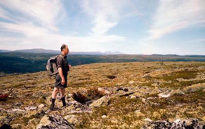 Ørnulf på fjelltur