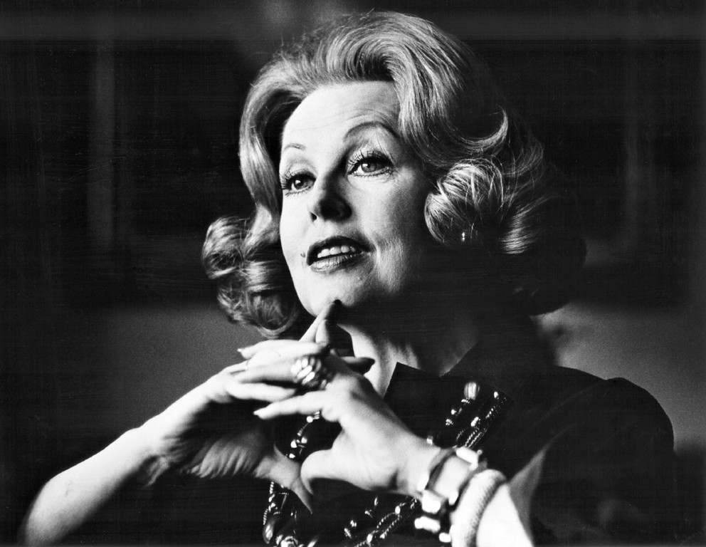 . OCT 3 1974.   Actress Arlene Dahl.   (Photo by Barry Staver/Denver Post)