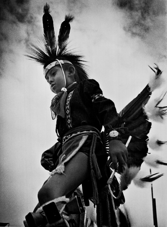 . JUL 19 1969.  Tony Tall bird, 7, of Cheyenne, Wyo at the White Buffalo Council Of American Indians\' Pow-Wow. Tony is the son of Mr. and Mrs. Danny Tall bird.   (Don Goodwin/Denver Post)