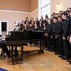 Rachel Hallenbeck directs the Braintree High School Concert Choir