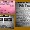 DALE THEATRE - Riverdale, IL - 1940's<br /> Replaced the Riverdale Theatre c. '40's and operated by Peter Kurz, who was a village official.   Theatre lasted until the early 1950's, when competition from the newly rehabbed Dolton theatre took business away. Later became Harold's Clearners in the 1960-70 era.  Building remains standing in 2013.