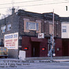 WONDER INN - RIVERDALE, IL - 1979 <br /> Since destroyed by fire, this structure housed the Peter Kipley Feed Store in the early 1900's--the Kipley family later had two members who became mayors of Riverdale.   Penn railroad tracks to the west of the building.