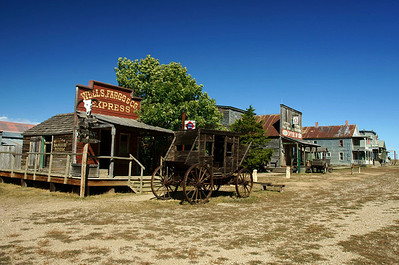 1880's Town South Dakota