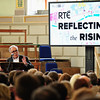 Remembering 1916: Have memory and myth become entangled? / Dublin University History Society 1916 Commemorative Debate<br /> <br /> RTE's Reflecting the Rising @ Trinity College Dublin Monday 28 March 2016.<br /> Photograph: ©Margaret Brown 2016