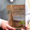 Tom Conlon's latest publication 'Twice Built' The Constructioin of St Patrick's Church, Monkstown, Dublin, 1861-66.<br /> Photograph: Margaret Brown<br /> Official Presentation of a 1932 Eucharistic Congress Flag to the Dun Laoghaire Club by Jane & Geoffrey Metcalf on Saturday 25th June 2016 at 8pm.