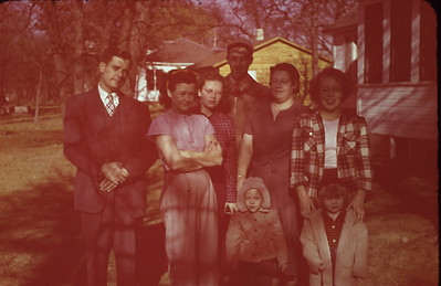 Maurice Turner, Bertha Padden, Linda Jo Bjerken, Harry Lyddon, Bertha Padden, Alice Anne Lyddon, Marguerite Bjerken, Tamara (Mary) Sue Padden