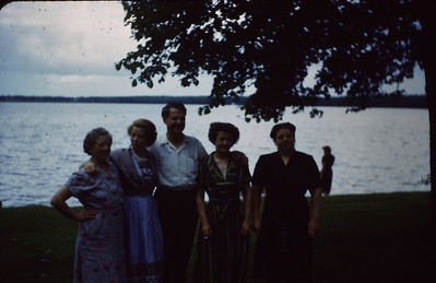 Sena Turner, Ruth Lyddon, Maurice Turner, Bertha Padden, Marie Bjerken
