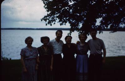 Sena Turner, Bertha Padden, Maurice Turner, Marie Bjerken, Ruth Lyddon, Everett Turner