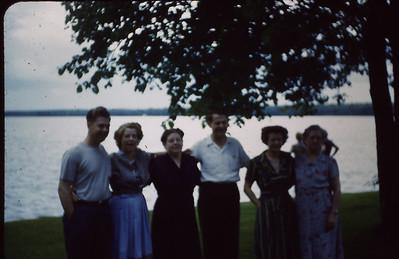 Everett Turner, Ruth Lyddon, Marie Bjerken, Maurice Turner, Bertha Padden, Sena Turner
