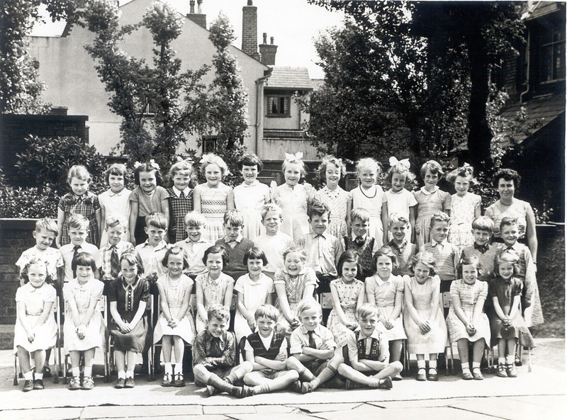 1956 School Photograph,. Miss Cadmans class.Back row Judith Bellis, ????, Jacqueline Holt, Wendy Greensitt, Karen ?, Harry Wilkins, Lynne Coucill, Janrt Farrington, ???, Miss Cadman.<br /> Midddle row David Ashworth, Jihn Durose, Duncan Jones,???, John Simms, Derek Barlow, Graham Edge, Frank Brough, ????, Ian Derby, Derek Taylor, William Lomax, ????, Front row, ????, Carol Peachey, ??? Jacqueline Holt, ???, Marjorie James, ???, Jean Holden, Sitting at front, ???, Brian Deakin, Steven Carter, Michael Buckley, David Eaton.