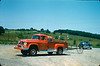 ca. July 1960. New Dodge Power Wagon outfitted as Brush 14-9. Photo courtesy of Glenn Curtis