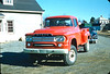 ca.; 2-1960.  New 1960 Dodge Power Wagon prior to being outfitted as Brush 14-9. Photo courtesy of Glenn Curtis