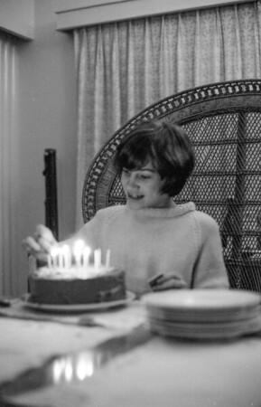 Priscilla's 14th birthday, December 27, 1968.