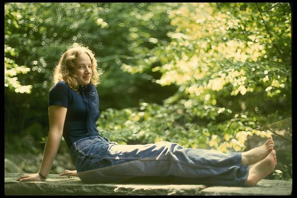 "Cathy (""Portrait at end of Moonhaw"", West Shokan NY, 1975)"