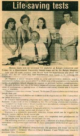 1983 Mt Isa Newspaper Article