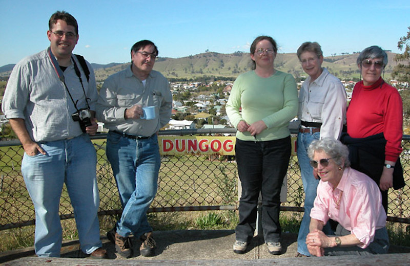 Dungog -  Jason Butler, Chris Barlow, Susan Buchanan, Beryl Jenkins, Wanda Bowen & Joy Williams