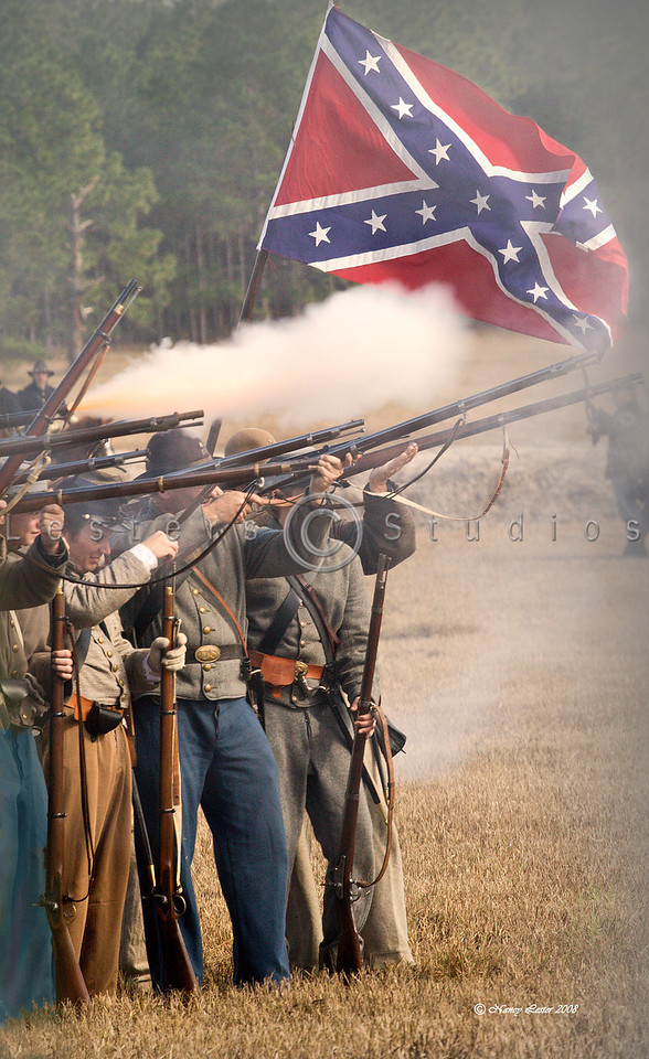 Confederates Fire Back