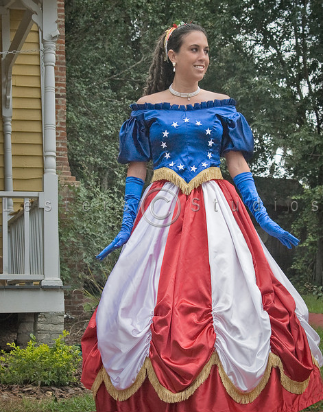 Stars and Bars Gown - 4651