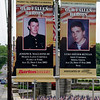 Banner for those from York County, Pennsylvania who have died in the two wars.