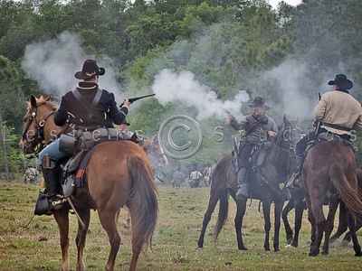Battle of Narcoosee Mill Reenactment 2009