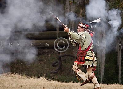 Fort Foster Seminole War Reenactment 2009