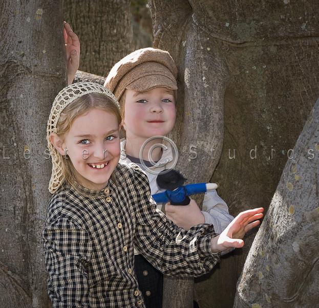 Kids love this tree.