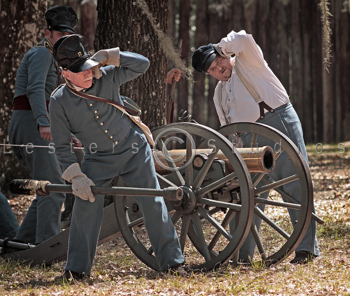 The artillery learned to conserve powder and shot despite taunts from the Seminoles.