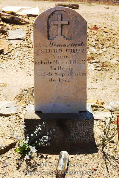 Graveyard, St. Catherine's Church, Hornitos