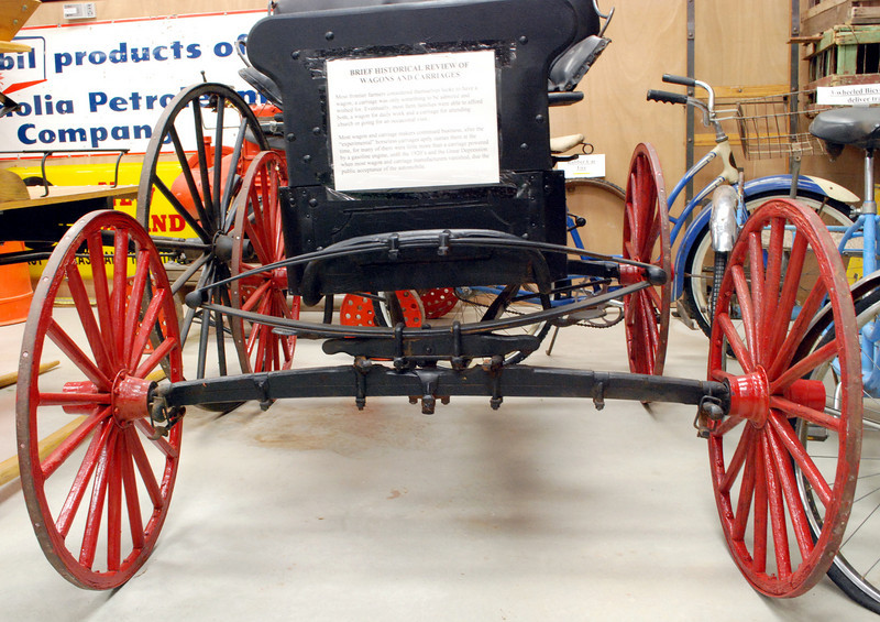 HM Buggy 1 horse front