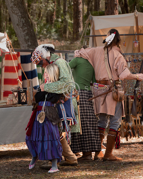 The Seminoles begin to collect captives of their own.