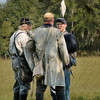 Terms of surrender are worked out at the end of Saturday's battle.