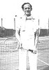 1940, Edited for skin tone, HARRY LINN ON TENNIS COURT