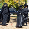"Mourners at Columbia Cemetery had plenty of work to do on Sunday.<br /> The permanent residents of the historic Columbia Cemetery in Boulder came to life to tell their story on Sunday.<br /> For more photos and a video of the spirits, go to  <a href=""http://www.dailycamera.com"">http://www.dailycamera.com</a>. <br /> Cliff Grassmick  / October 7, 2012"