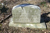 John Smith,  Born: unknown    Died: November 10, 1902    Age (58)<br /> Enlisted: March 21, 1863    Discharged:  August 20, 1865<br /> Private in Company C, 54th Massachusetts Volunteer Infantry, U.S.C.T.<br /> Listed as a farmer from Coatesville