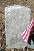 John M. Stephenson (Service records show Stevenson)     Born:  ?      Died:   ?   Age:  ?<br /> Enlisted 1864   Discharged 1865<br /> Served as Sergeant in Company A   45th Regiment   U.S.C.T.