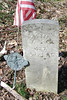Hugh Brown  Born: unknown   Died: February 1, 1883   (49)  <br /> Enlisted: July 4, 1863   Discharged:  October 31, 1865<br /> Private in  Company D  3rd Pennsylvania U.S.C.T.<br /> Listed as a Laborer.