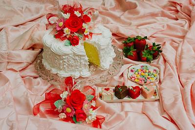February - Pineapple Orange Chiffon Cake