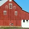 Festive English (non Amish) Barn