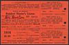 Orange Oregon Hunting License