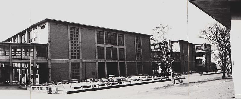 四十数年前の慶応日吉校舎