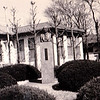 四十数年前の慶応工学部藤原銀次郎氏胸像