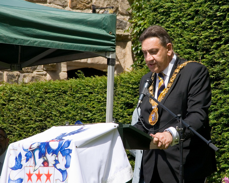 4th July ceremony at Washington Old Hall